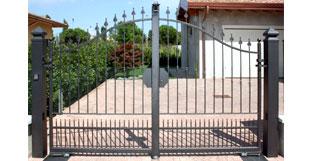 Dimensioni Cancello A Due Ante.Forgiafer Cancelli E Recinzioni In Ferro Battuto