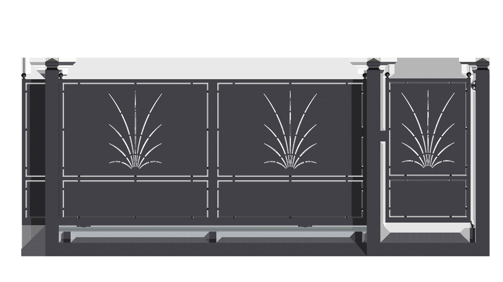 Super Forgiafer - Cancelli e recinzioni in ferro battuto SW68