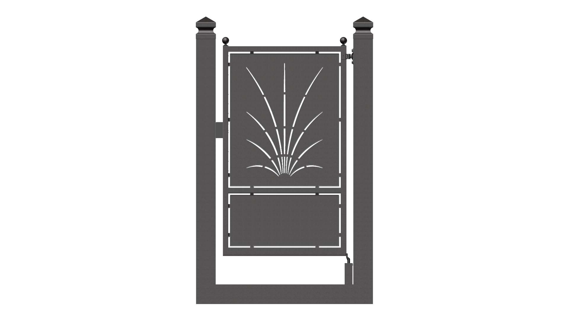Forgiafer cancelli e recinzioni in ferro battuto - Cancelletto in ferro battuto ...