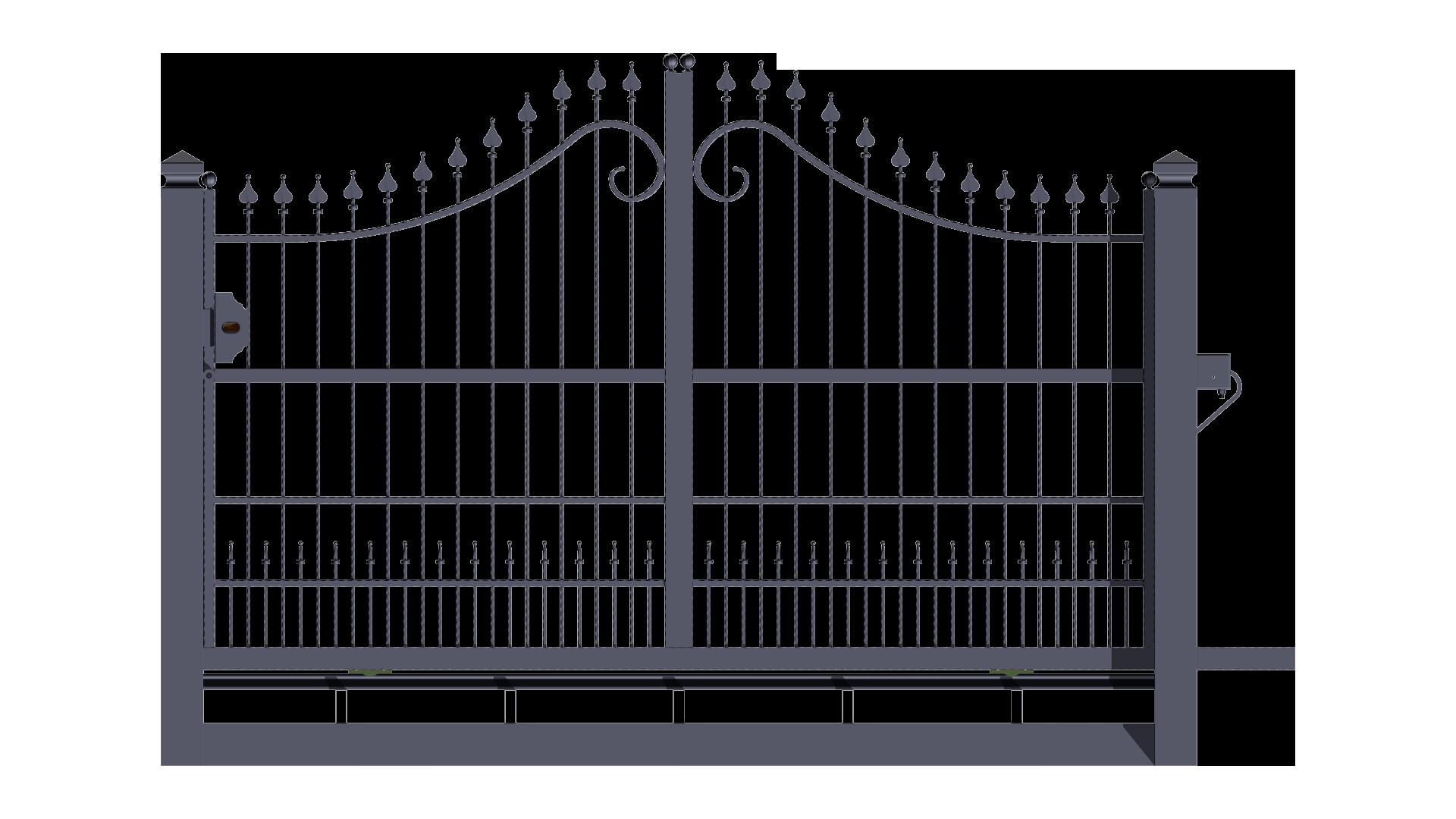 Conosciuto Forgiafer - Cancelli e recinzioni in ferro battuto LC89