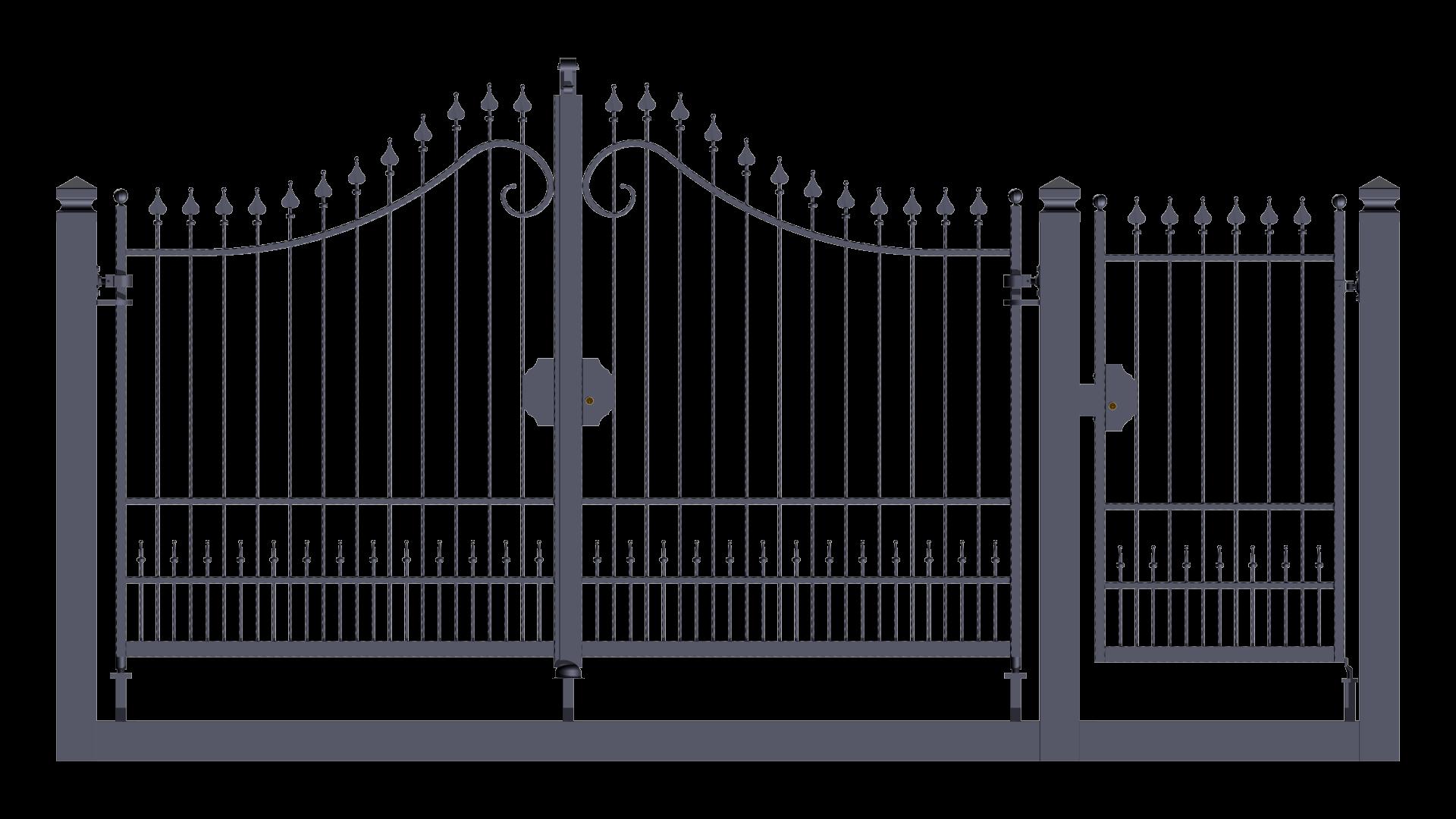 Forgiafer cancelli e recinzioni in ferro battuto for Cancelli ferro battuto foto