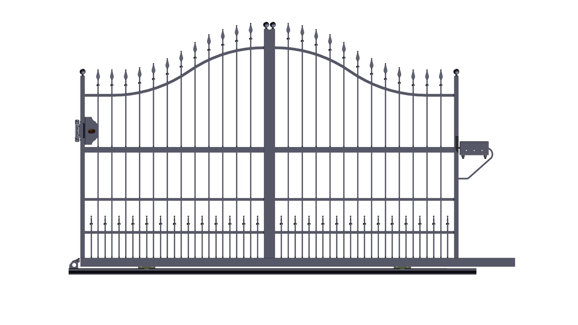 Ben noto Forgiafer - Cancelli e recinzioni in ferro battuto YU71