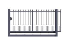 Sliding gates monoblocco