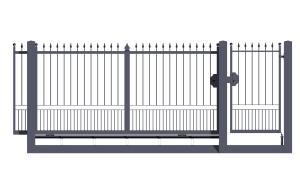 Sliding gates integrale