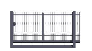 Portails coulissants monoblocco